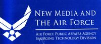 New media and thr air force