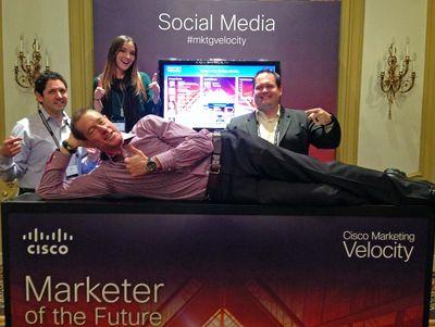 Social media at Cisco