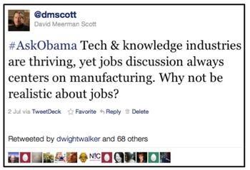 My obama question