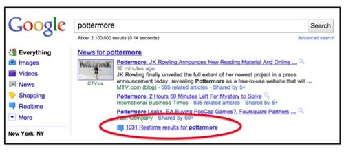 Google pottermore