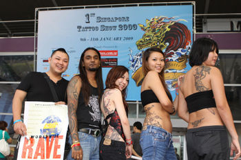 Singapore Tattoo