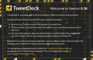 TweetDeck in true real time