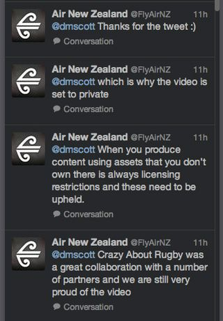 ANZ tweets