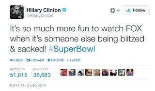 Hillary Clinton newsjacking