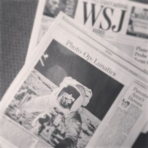 Marketing the Moon in WSJ bw