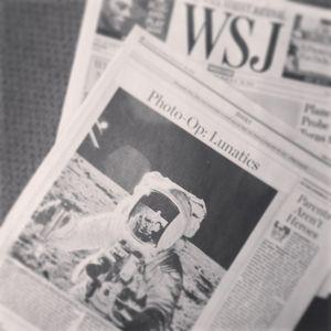 Marketing the Moon in WSJ bw