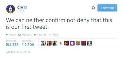 CIA twitter