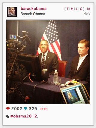Obama Instagram