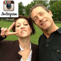Dmscott and amandapalmer instagram