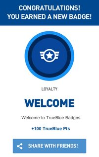 JetBlue badge