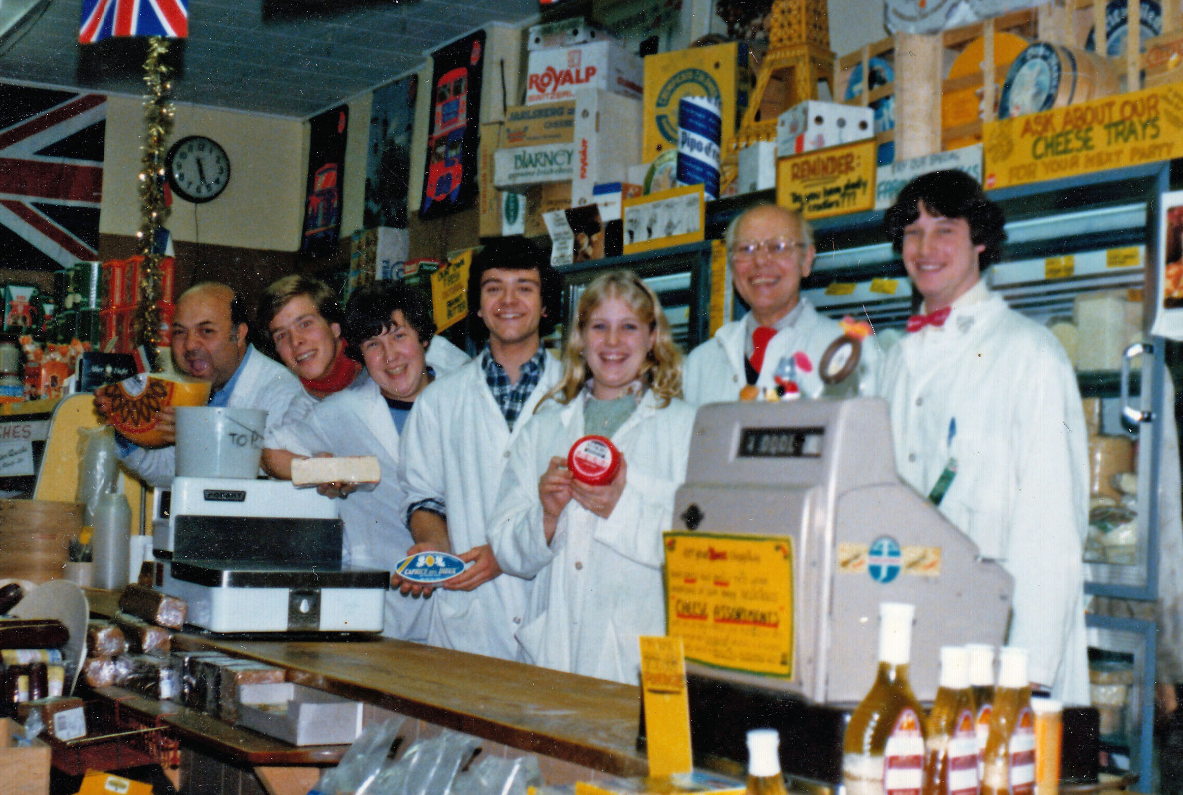 Cheese Shop late 1970s
