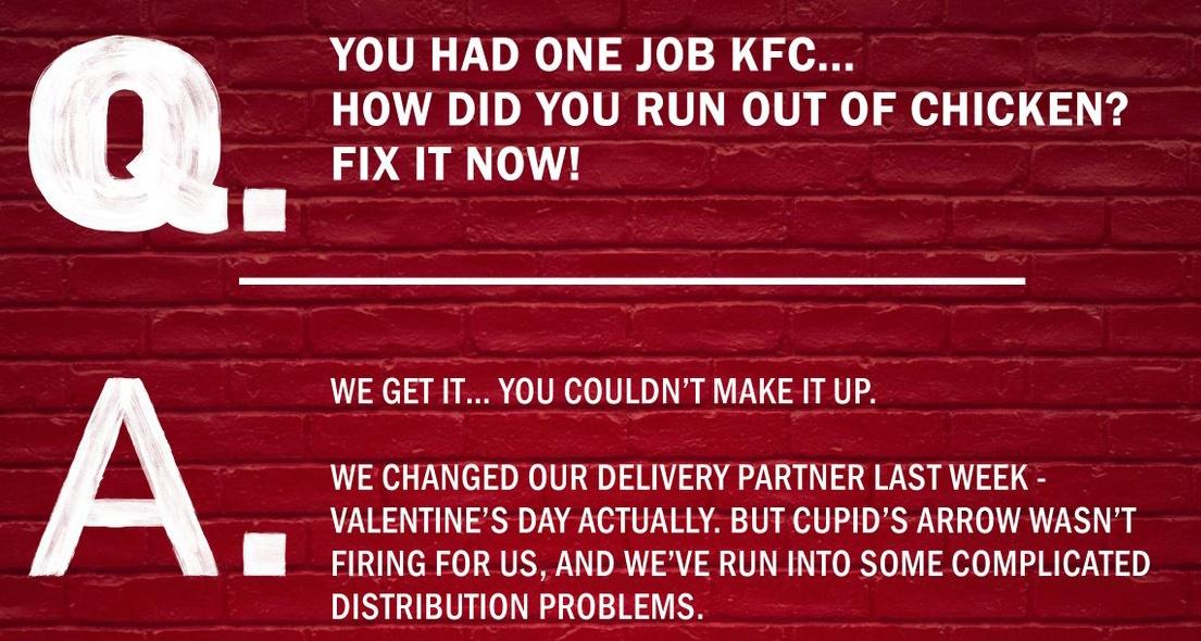 KFC one job