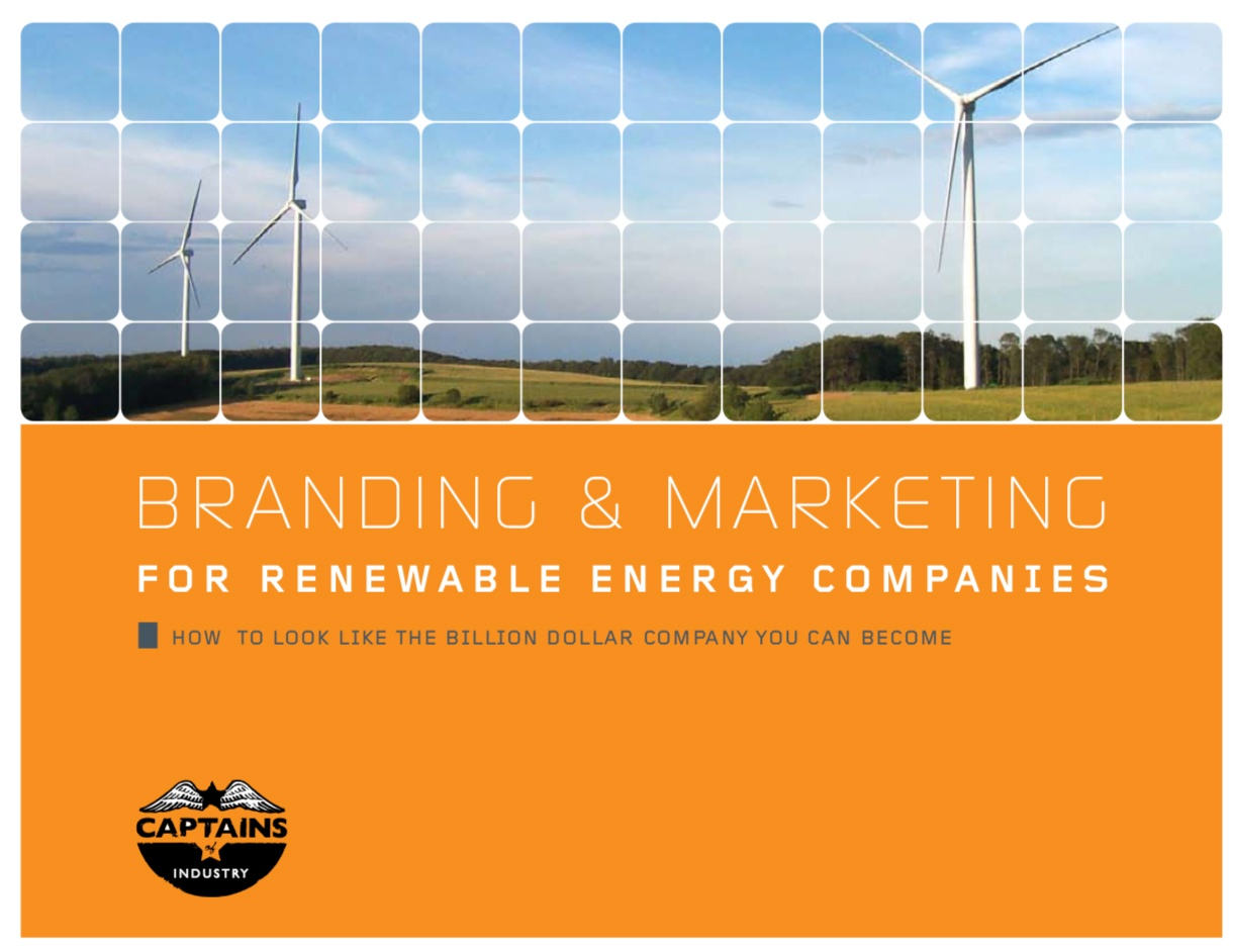 Branding and Marketing for renewable energy companies